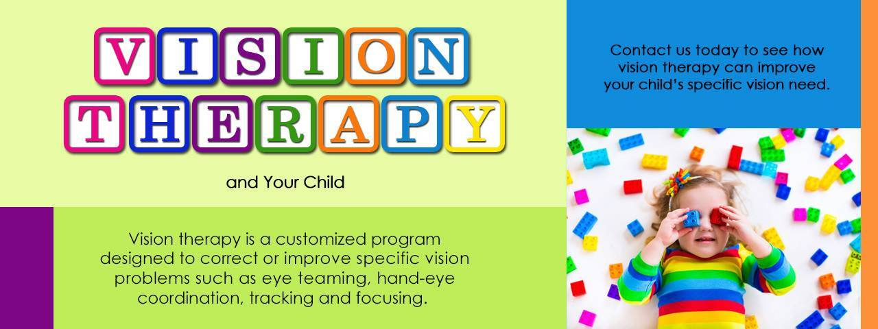 Child with Legos, Vision Therapy in Greenville